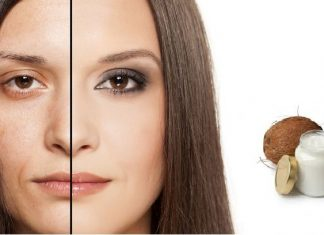 get rid of Wrinkles Using Coconut Oil